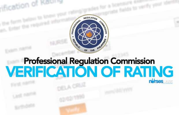 PRC Online Verification of Ratings