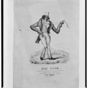 """Zip Coon,"" 1834. Source: Library of Congress, Prints and Photographs Division"