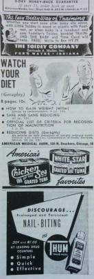 Advertisement from Hygeia, vol. 27 (July 1949).