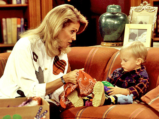 Candice Bergen as Murphy Brown in the TV show of the same name. (Entertainment Weekly)