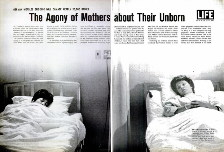 1965 LIFE story about the Rubella epidemic. (LIFE)