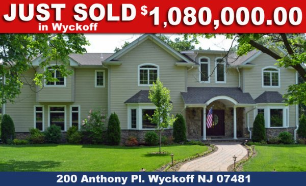 Just Sold In Wyckoff NJ
