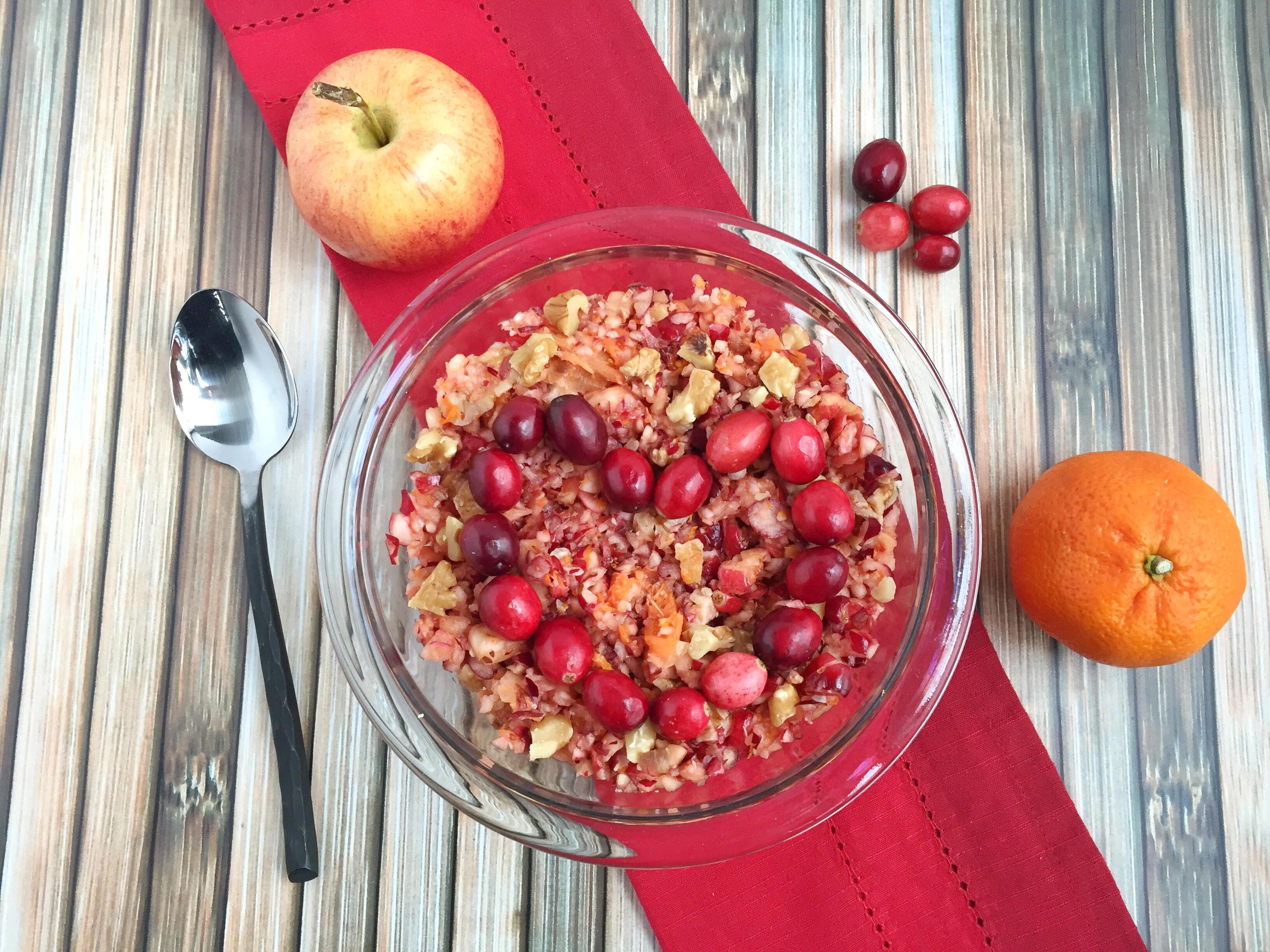Cranberry Orange Ginger Relish - Nutrition Starring YOU