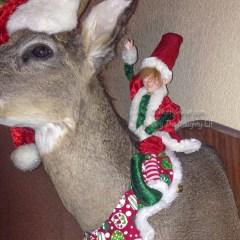 Ride Em' Elf   Rocky The Naughty Elf On A Shelf