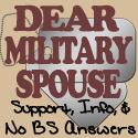Dear Military Spouse
