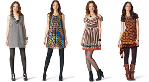 Anna Suis Target Gossip Girl inspired line