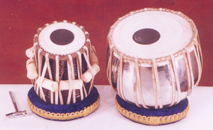 Classical Indian instrument: the tabla