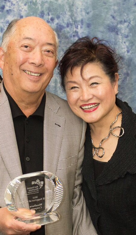 NAMES Frank and Penny Fukuioto CREDIT Alex Llorente, NW Mountain MSDC