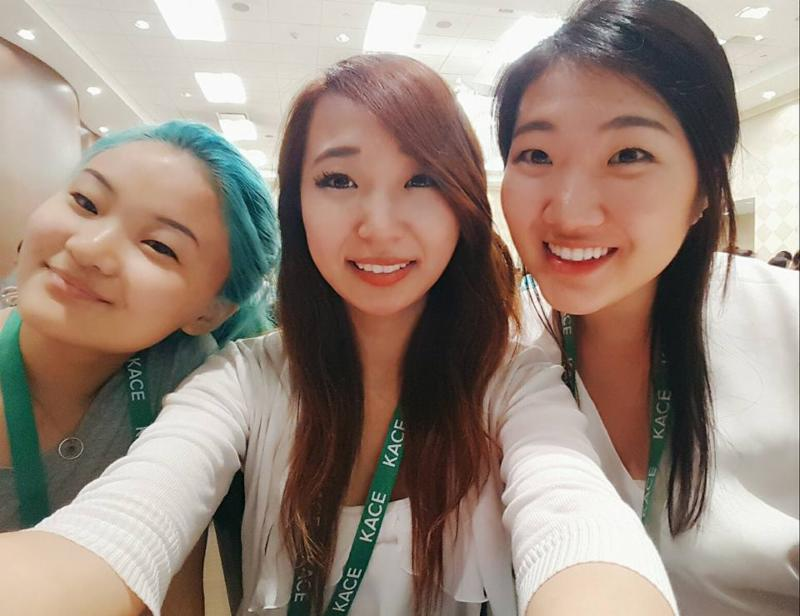From left: Mindy Lee, Yunhee Ham and Eunice Jang in Washington D.C. (Photo from KAC)