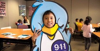 Emery All Stars program teaches kids about 9-1-1
