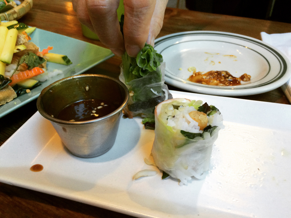 Spring rolls (Photo by Assunta Ng/NWAW)