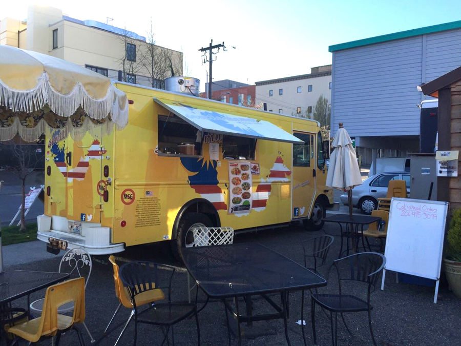Seattle Mamak food truck (Photo from Seattle Mamak's Facebook page.)
