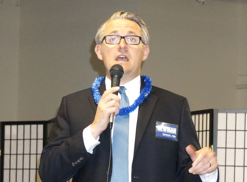 ERIC NEWMAN, Candidate for Superior Court, Judge Position 44