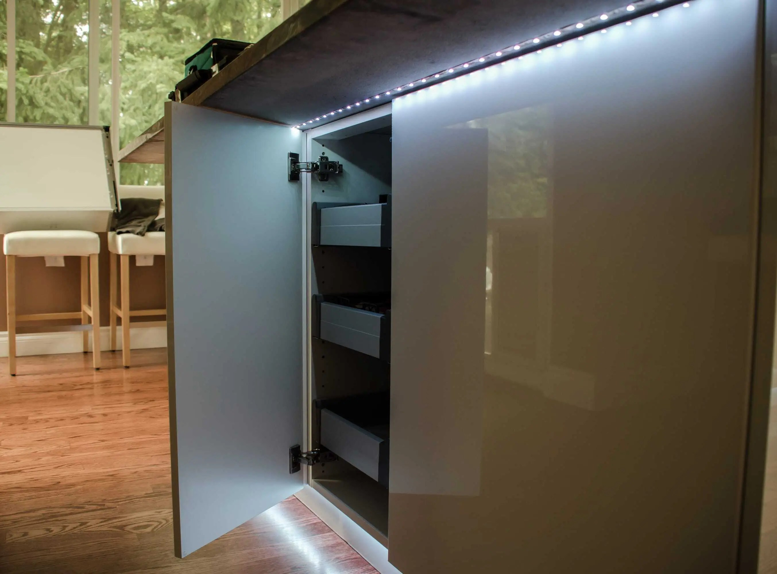 ikea hacks and other fun stuff led kitchen light LED Kitchen lighting under counter