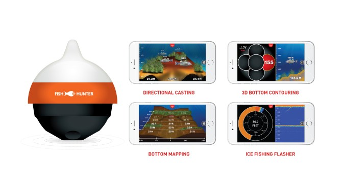 Fishhunter introduces pocketsized directional 3d fishfinder for 3d fish finder