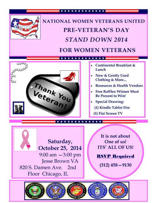 Stand Down 2014 Flyer