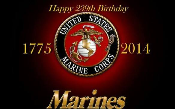 Happy Birthday Marines