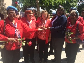 NWVU honored Dignity Memorial Evergreen Cemetery General Manager, Diane Comer with a Medal on Memorial Day for her passion and service to veterans. An annual ceremony is held during the Memorial Day weekend to remember the men and women who made the ultimate sacrifice.