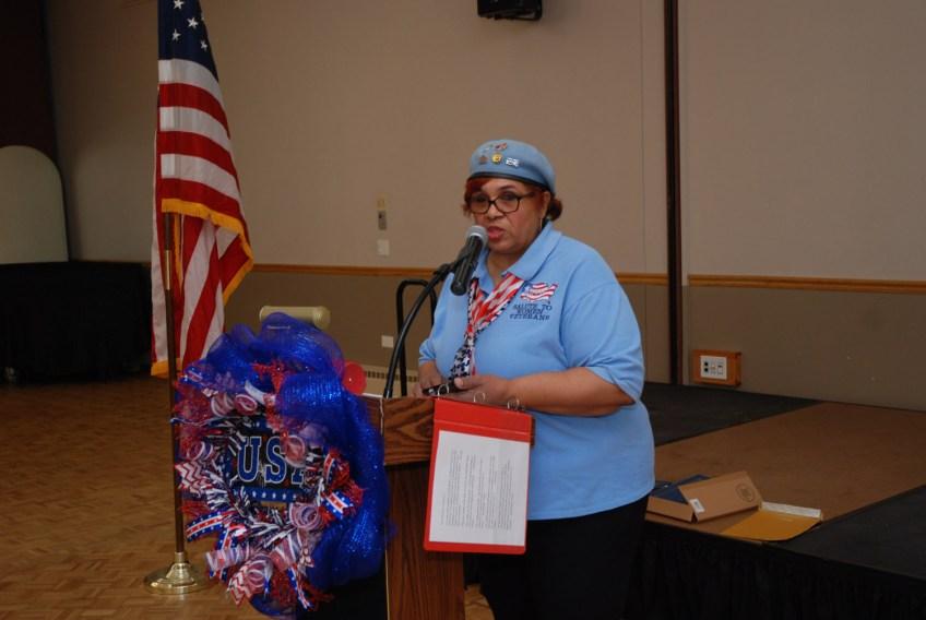 Rochelle Crump (NWVU President)