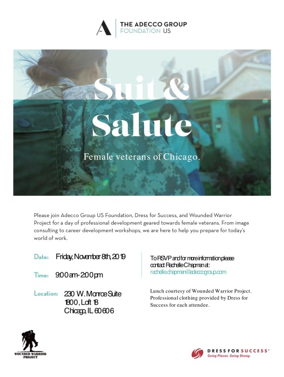 ADO Grp Foundation_Flyer_Suit and Salute_Chicago