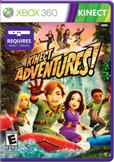Kinect Adventures Game Box