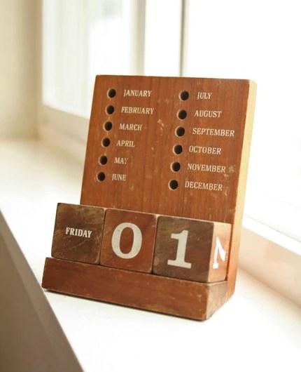 Perpetual Calendar Wood : Perpetual calendar roundup the estate of things