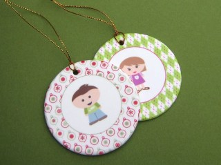 Customizable Kidlet Ornament