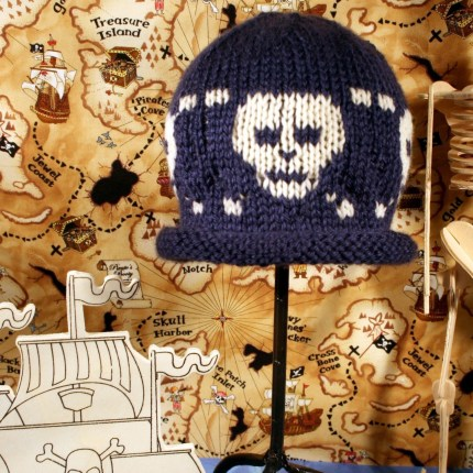 Skully Baby Cap Pattern PDF