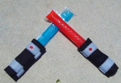 Light Saber Popsicle Cozy-Set of 2