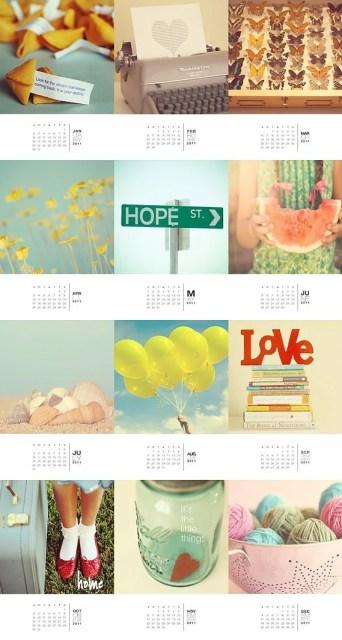 2011 Fine Art Calendar 5 x 7