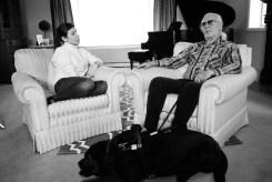 Ilana & Tony relax pre-interview