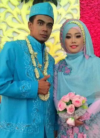 Nafi dan suaminya :)