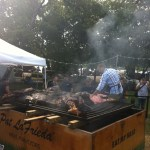 Pat LaFrieda was grilling a 1,000 pound steer
