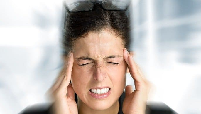 As temporomandibular joint problems, dizziness and ringing in the ears (tinnitus), may occur 2