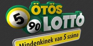 Az ötös lottó 2016. augusztus 27-ei – 34. hét nyerőszámai