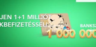 Posta nyereményjáték – Nyerj 1+1 milliót csekkbefizetéssel!