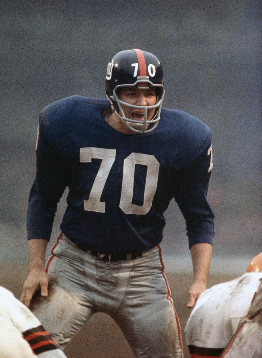 NY Giants: The Giants 1st Great MLB - Sam Huff