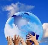 何治平牧師帶領手按六呎地球為全球禱告 : Global Day of Prayer 2014 NY 活水供應站響應全球禱告日