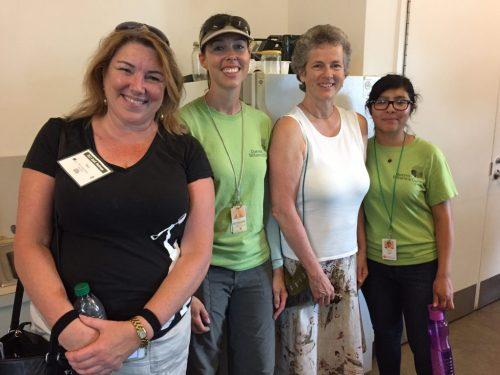 Mary and QBG staff Karen Emmerich