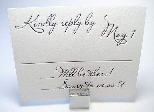 Medium Of Rsvp Wedding Cards