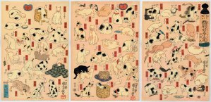 sKuniyoshi_Cats-Suggested-by-the-Fifty-three-Stations-of-the-Tokaido