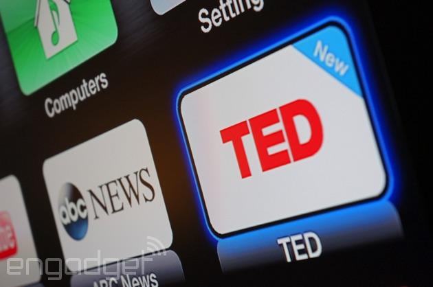 TED Talks app on Apple TV