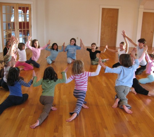 Childlight Yoga Teacher Training at O2
