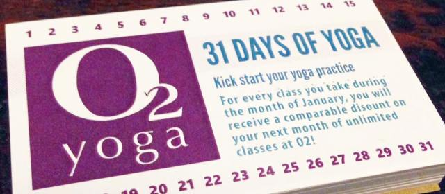 The 31 Day Yoga Challenge