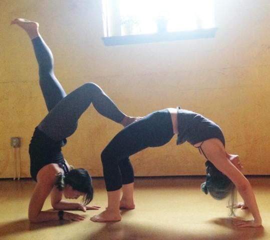 Yoga with Friends – Partner Yoga Workshop