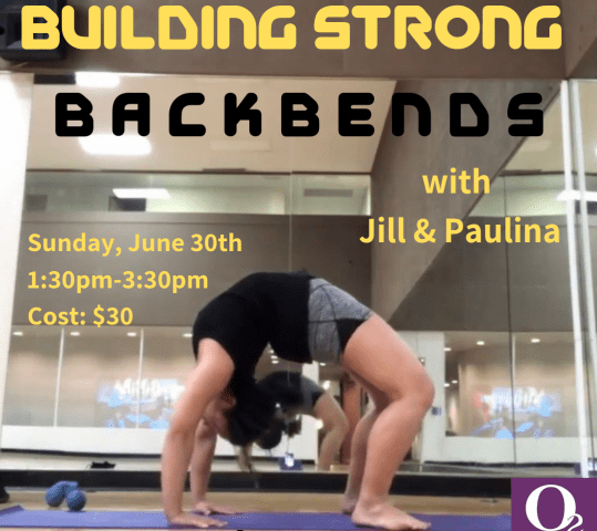 Building Strong Backbends – Workshop
