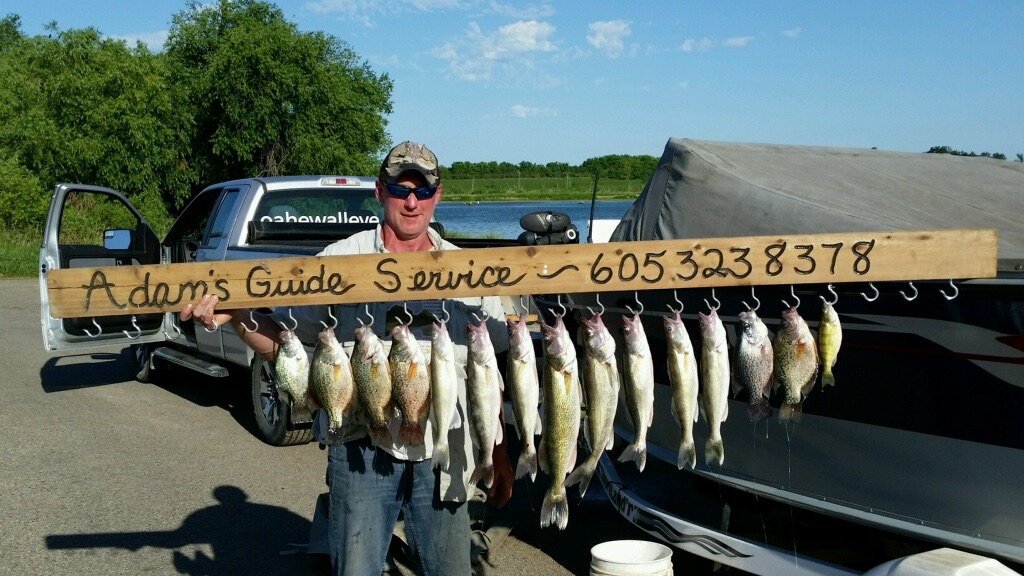 Lake thompson june 23 2016 the original for Lake thompson sd fishing report