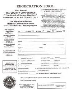 Tri County Conference Registration @ Wyndham Garden Hotel | Sterling Heights | Michigan | United States
