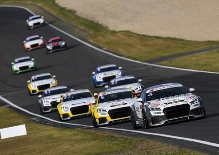 Audi Sport TT Cup po raz pierwszy wjeżdża na tor Hungaroring