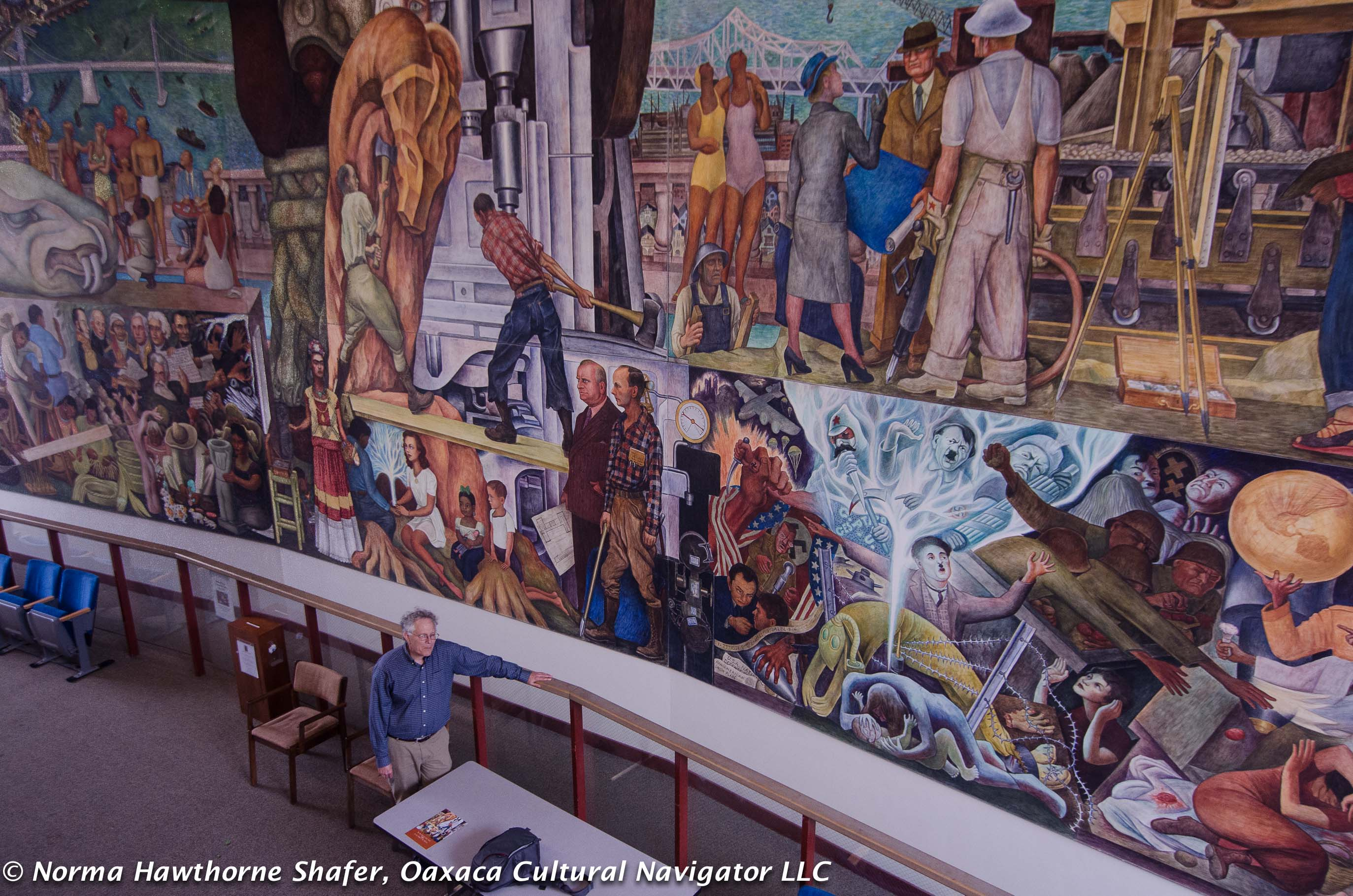 Diego rivera murals in san francisco critical guide for for Diego rivera san francisco mural